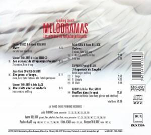CD Melodramas Feuilles dans le vent